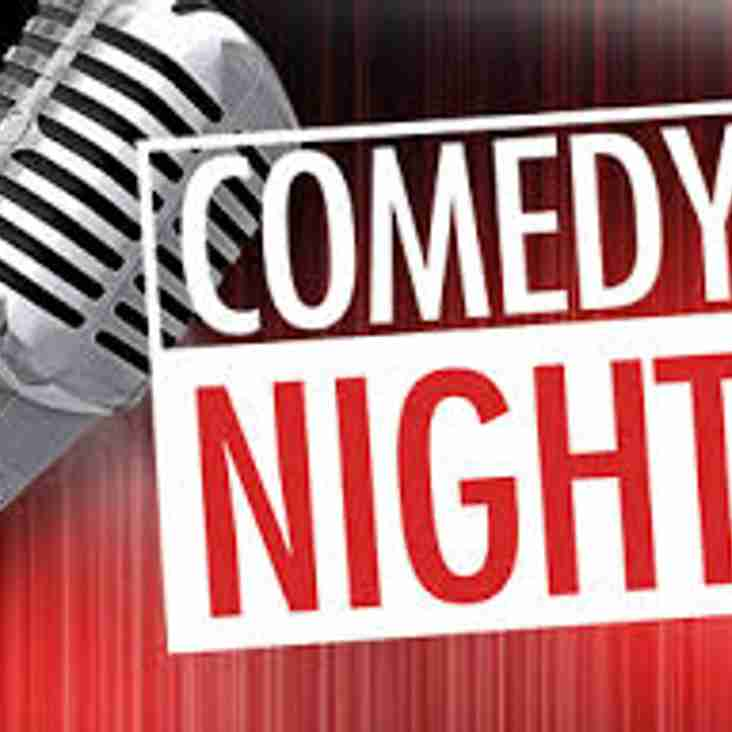 Comedy night@ Chester Rugby Club -  January 26th