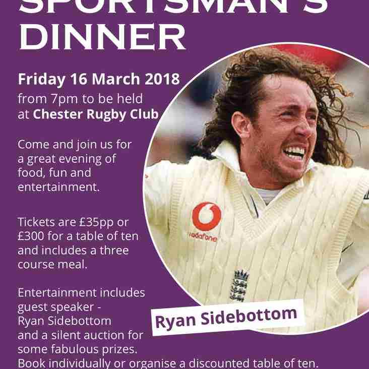 Barrow Cricket Club Sportsman's Dinner