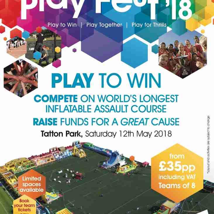 Active Cheshire Event - Playfest 18 Tatton Park