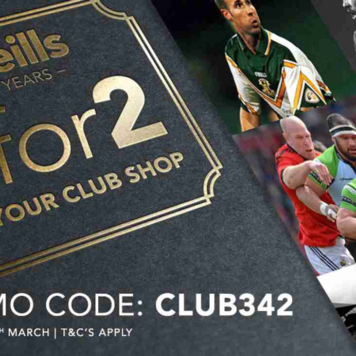 O'Neills 3 for 2 Promotion