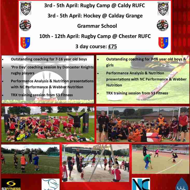 Masters Sports Coaching - Easter Rugby Camp