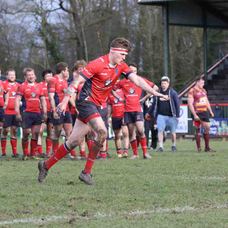 Chester 1st XV vs Sheffield Tigers 240318