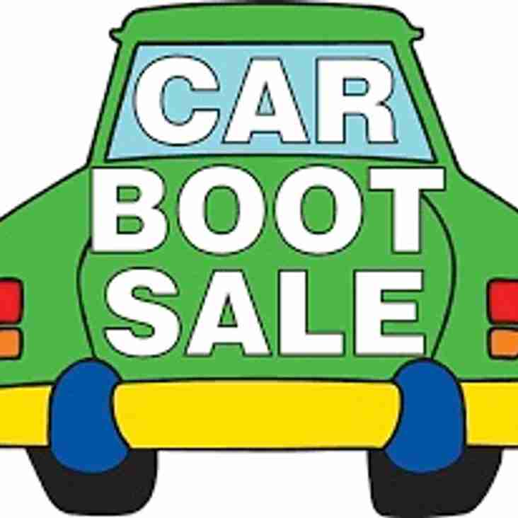 Car Boot Sales - May 13th to August 19th