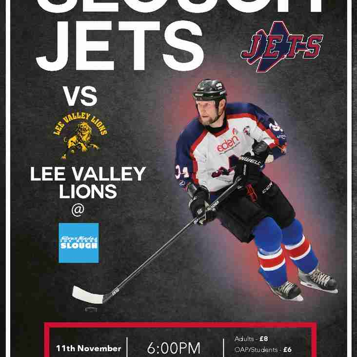 SLOUGH JETS v LEE VALLEY LIONS
