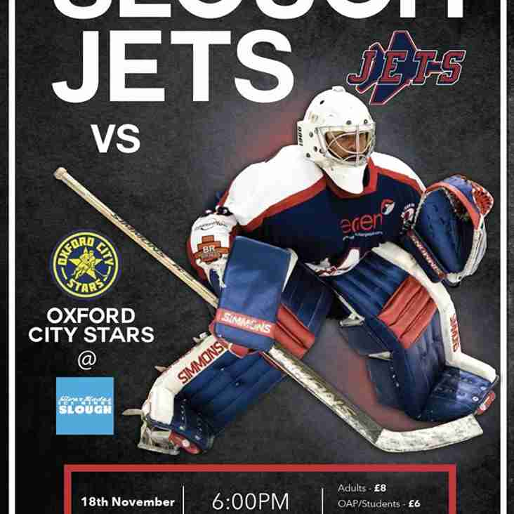 Slough Jets v Oxford City Stars