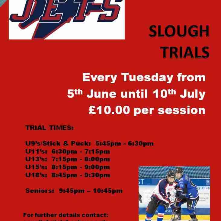 Slough Jets Trials