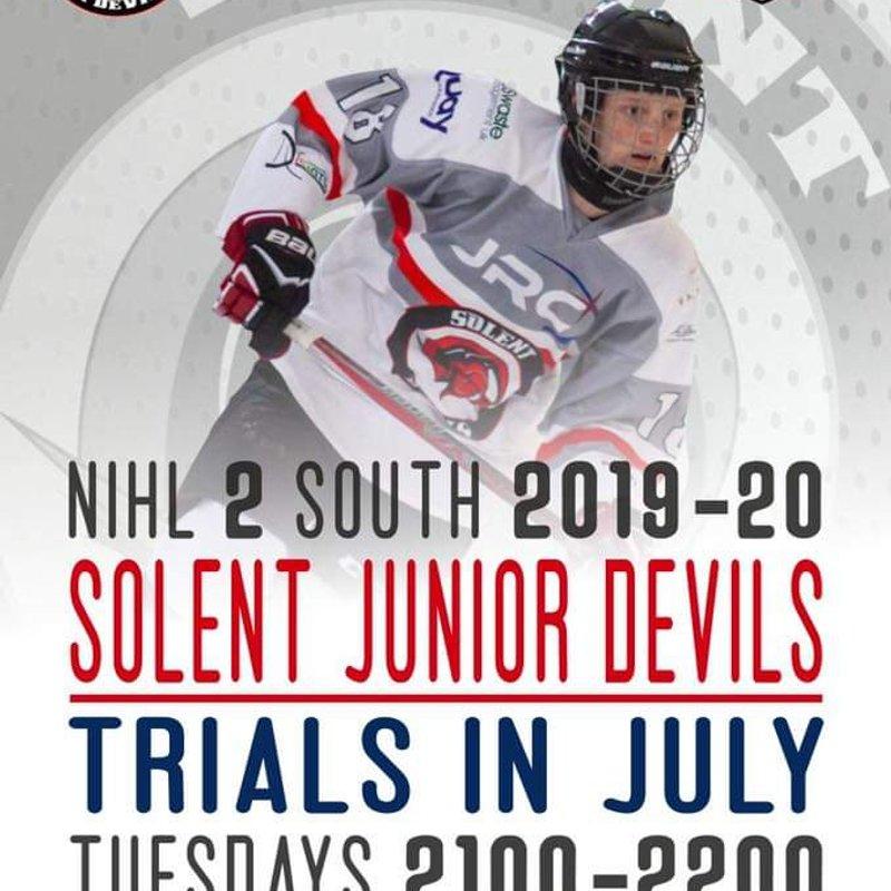 Solent Devils EINL Trials