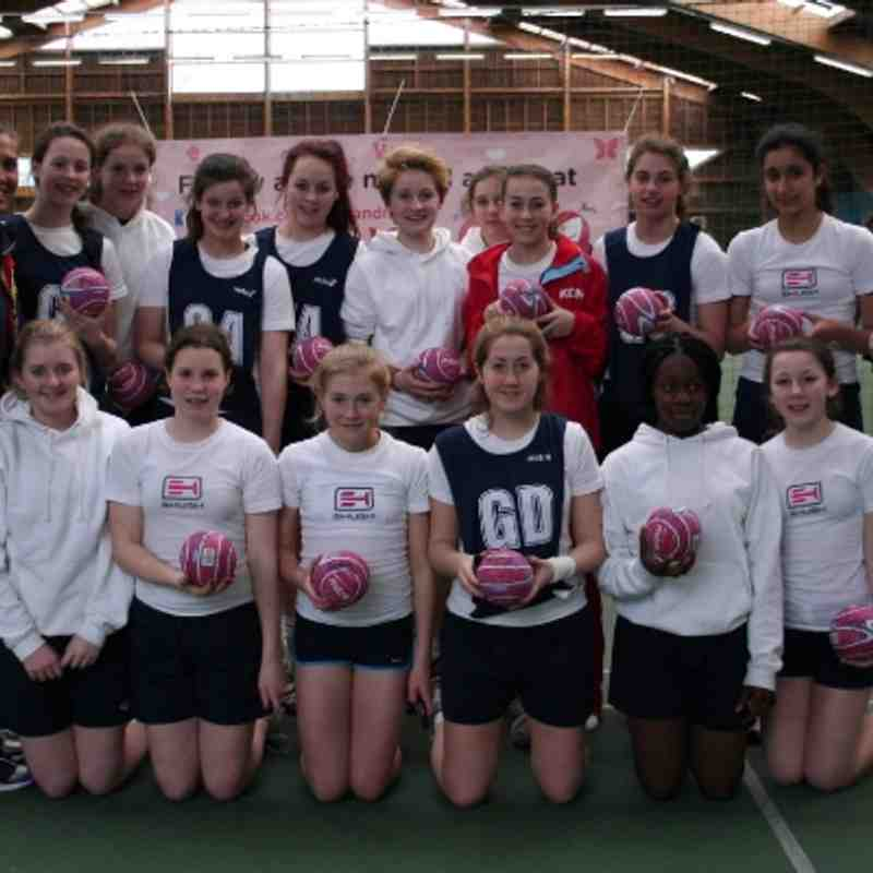 2013 International Junior Netball Festival, Disneyland Paris