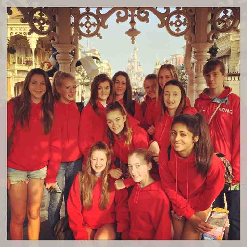 International Junior Netball Festival 2014, Disneyland Paris