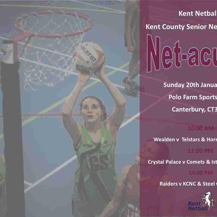 """County League """"Netacular"""""""
