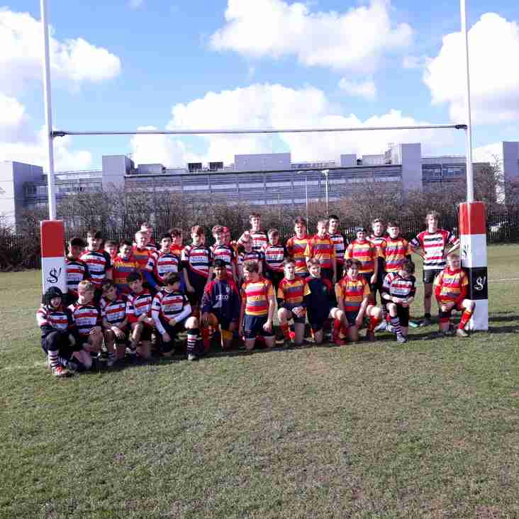 The Novocastrians big one!!! Novos u14s vs Peterborough u14s