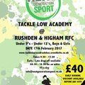 Tackle Low Academy comes to the Den