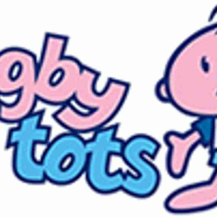 Rugby Tots is taking bookings for the New Year!