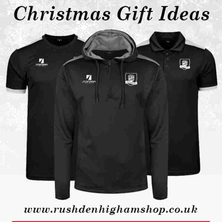 Get Your RHRUFC Christmas Clothing Orders in Now in!