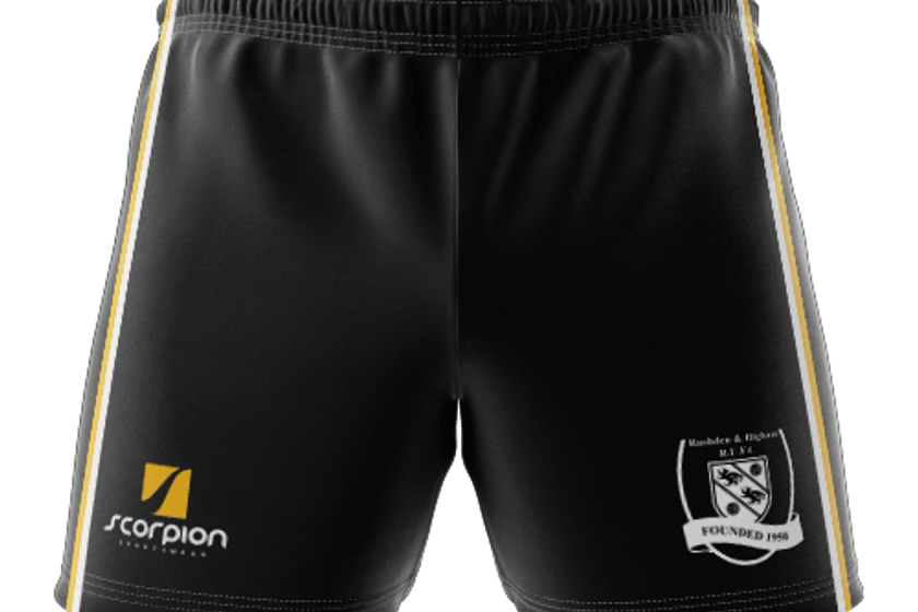 Official RHRUFC Playing Shorts now available!!