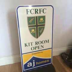 New FCRFC Kit Room Sign