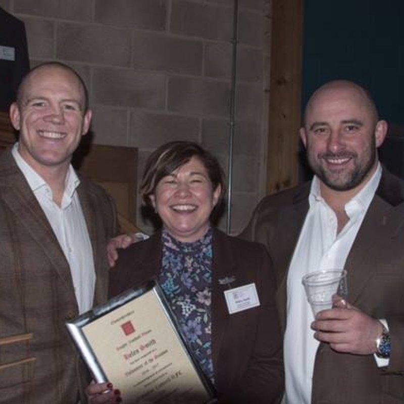 Helen Smith - Gloucestershire Club Volunteer of the season