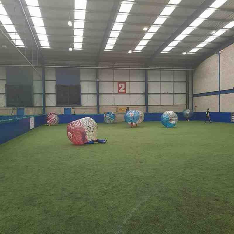 AFC Kirk Hallam under 11's Bubble football