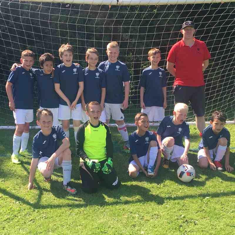 Sherwood Colliery Tournament winners