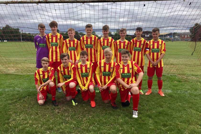 Under 18's beat Eastwood Town Juniors 2 - 0