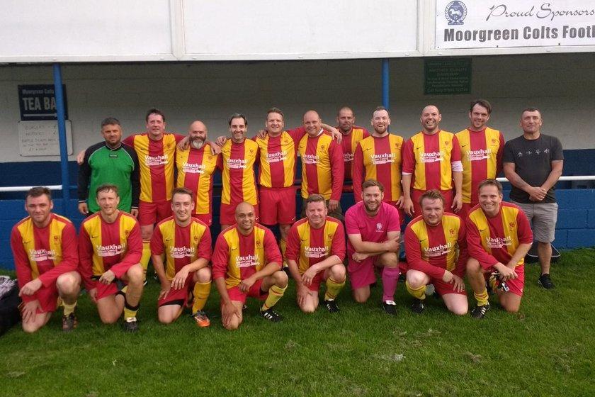 Veterans lose to Basford United 3 - 4