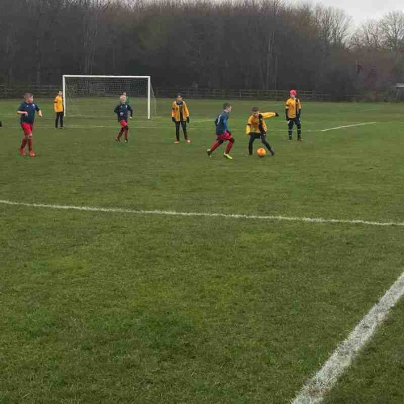 U11's vs Ruddington - 03/02/2018
