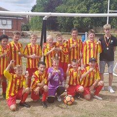 Under 12's beat Retford FC Juniors 0 - 1