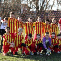 Under 12's lose to Gonerby Yellow 2 - 2