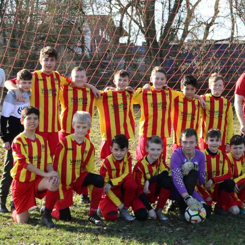 U12's vs Keyworth 16-2-19