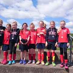 U10 Girls Tournament Success