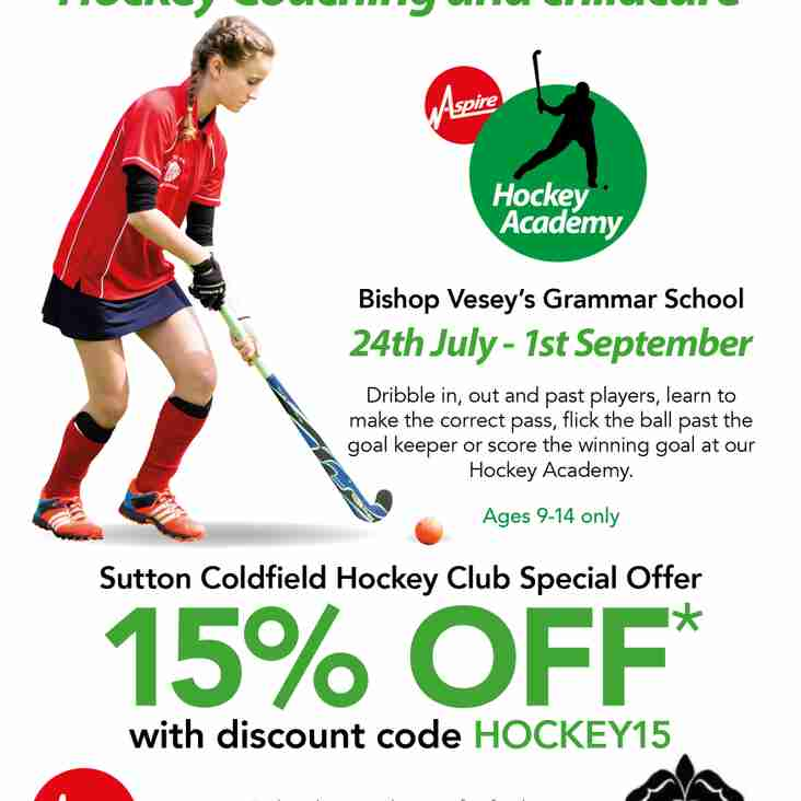 Aspire Summer Camps - Discount for SCHC Members