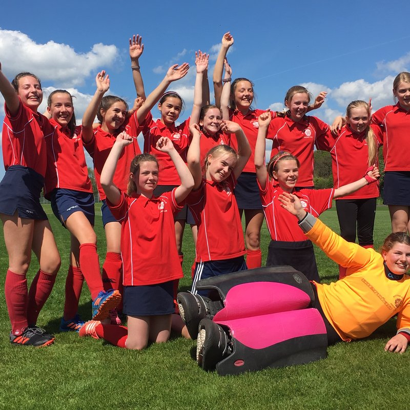U14 Girls at the Championship Area Finals