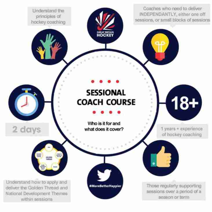 Do you want to become a qualified Sessional Coach? Funding available