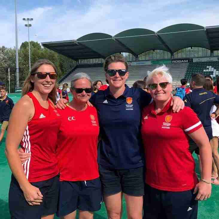Mighty Pinks in action at the European Masters