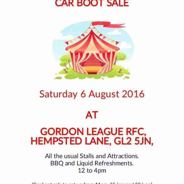 SUMMER FAYRE AND CAR BOOT SALE
