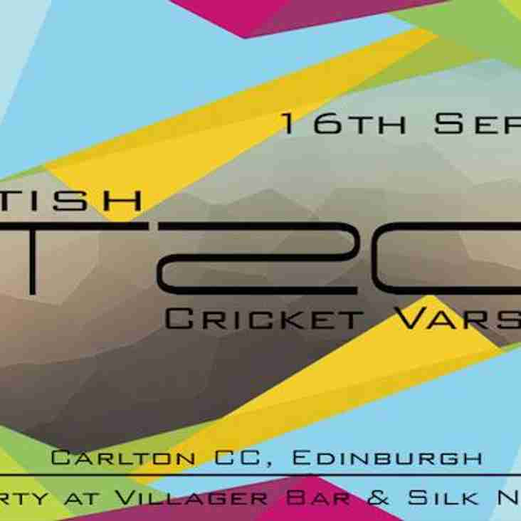 Scottish T20 Varisty is Back!