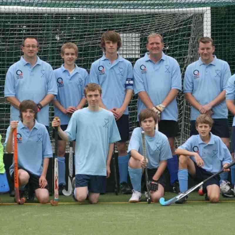 Sleaford HC - Mens Team - Sept 2011