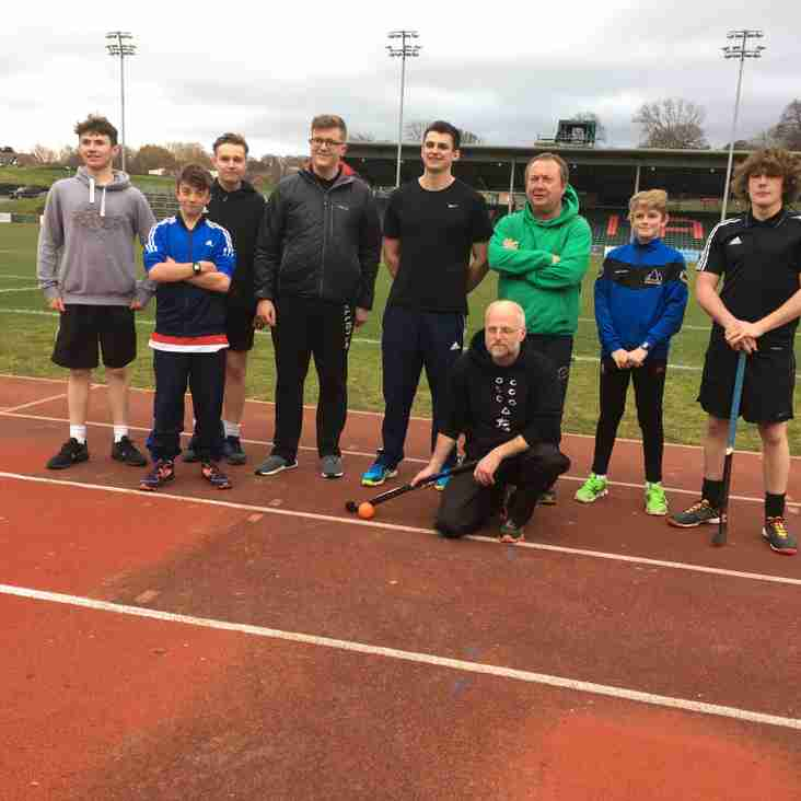 Young Ambassador training at Colwyn Bay 20/02/2017