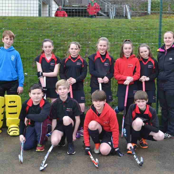 Juniors involved in several competitions.