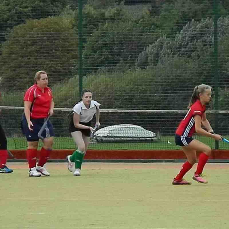 Ladies 2s V Oxton Away 23rd Sept 2017