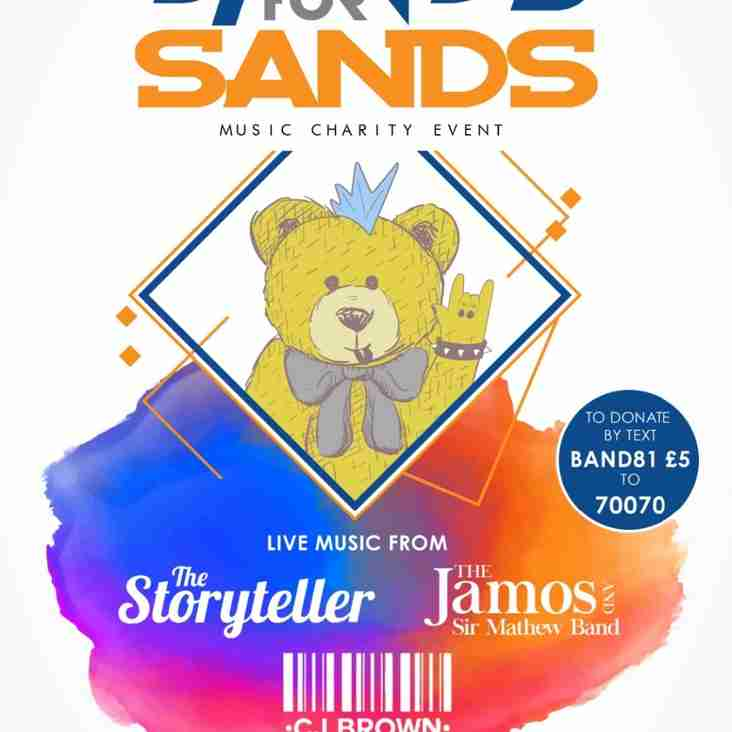 Bands For Sands (On behalf of Chris Sturley)