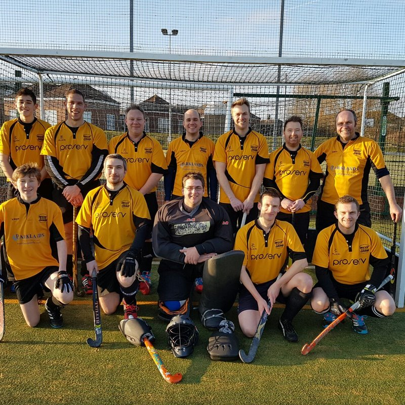 Men's 1st XI beat Bury St Edmunds 2 4 - 1