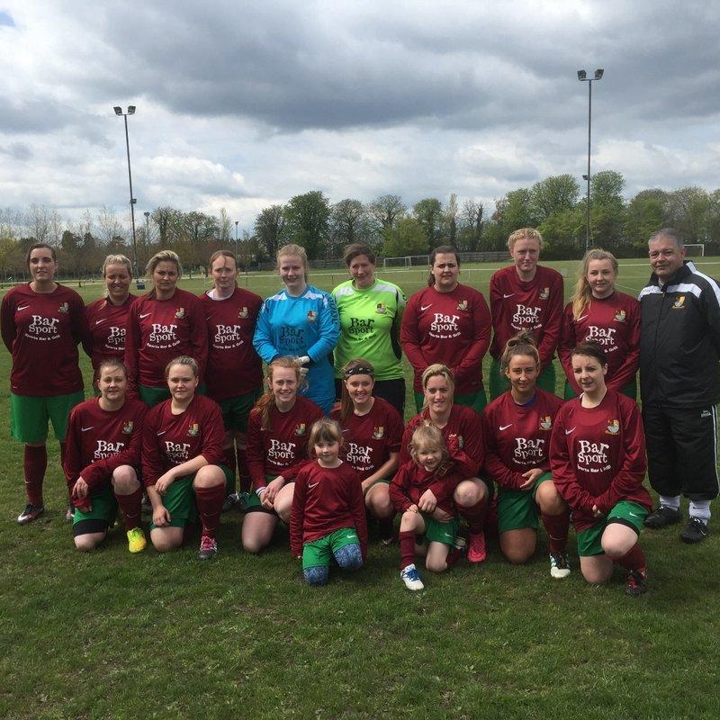 First Team beat Barton United  2 - 3