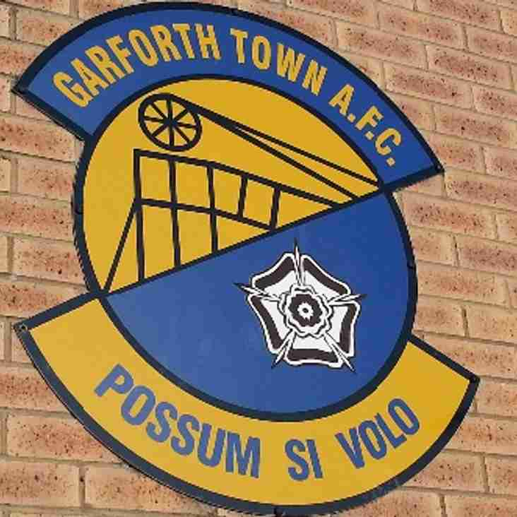 RESULT - Garforth Town 4-0 Harrogate Railway (FA Youth Cup)