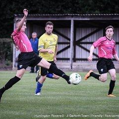Huntington Rovers v Garforth Town  (13/07/2017) photos by Malcolm Bryce
