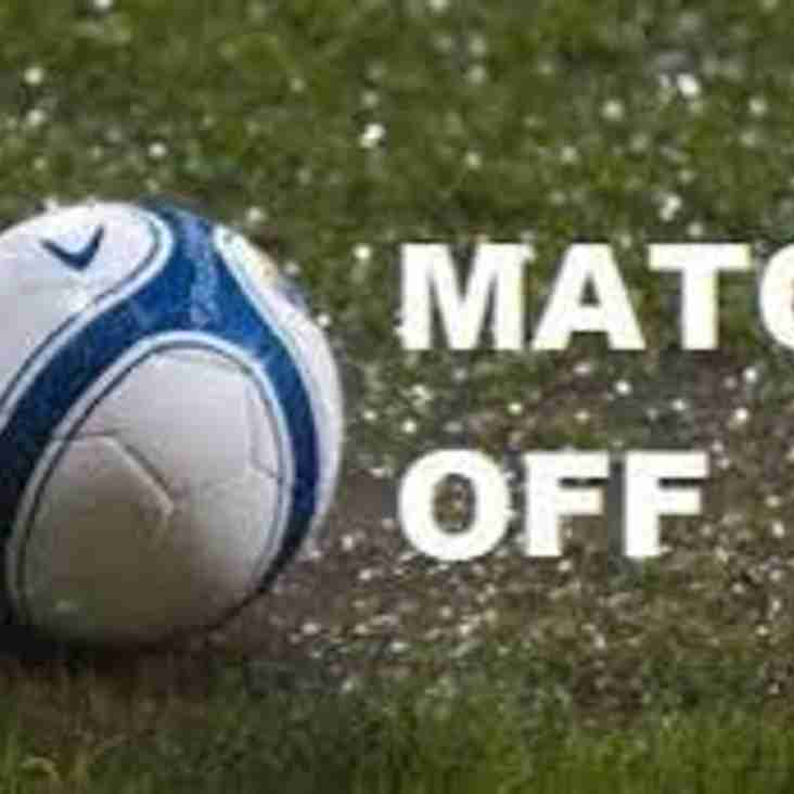 Hall Road Rangers game postponed