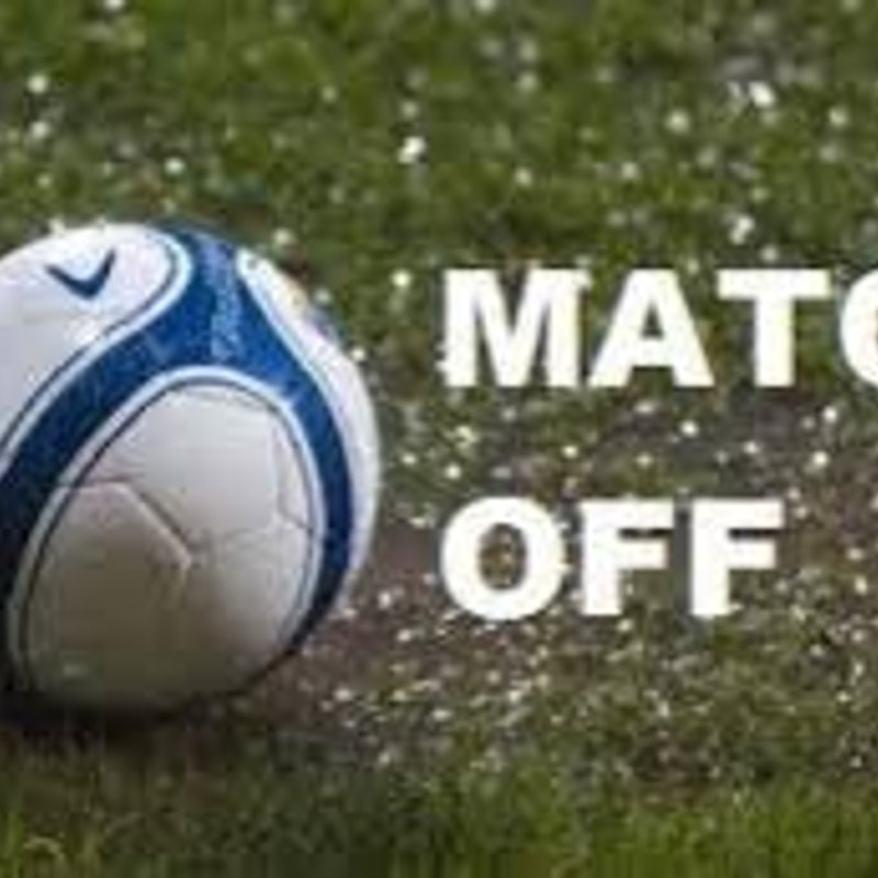 Todays' game at Hall Road Rangers is postponed