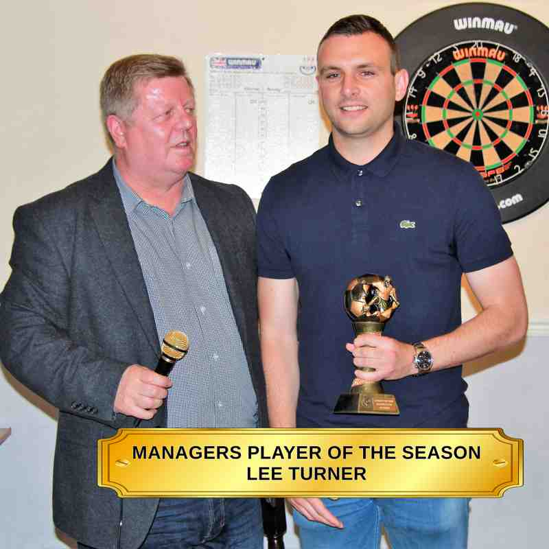Garforth Town presentation night awards 2017/18