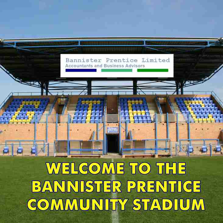Welcome to the Bannister Prentice Community Stadium!