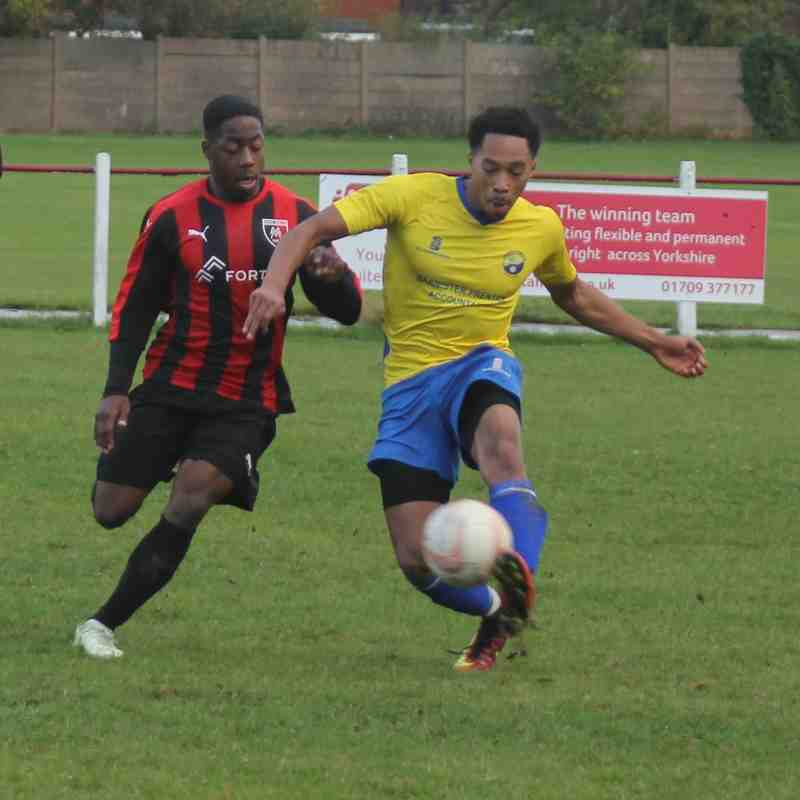 Maltby Main v Garforth Town (06/10/2018) by Steve Richardson
